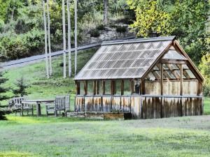 Gartenhaus, Holz